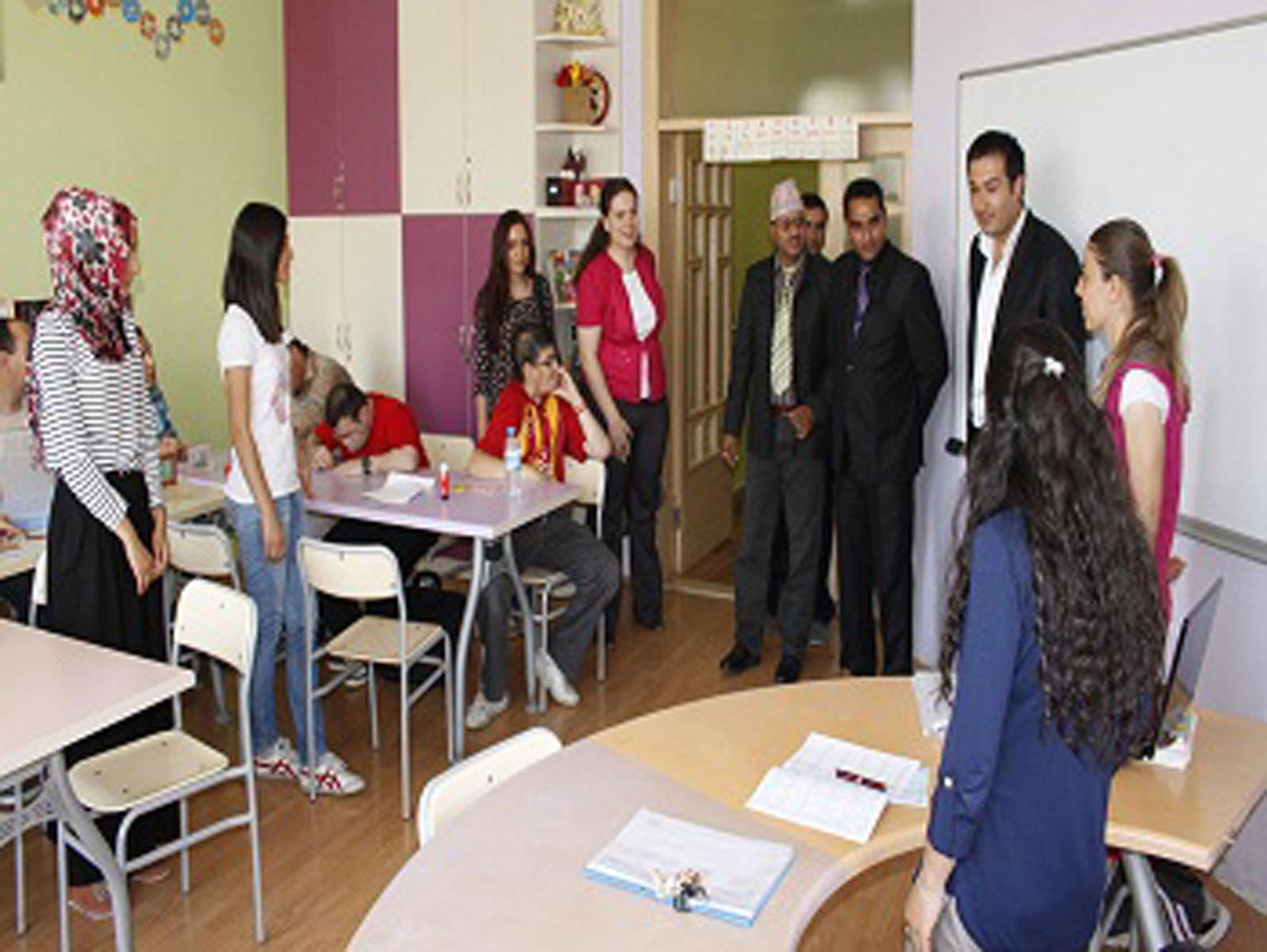 ÖZEV ve NEPAL Engelliler Beceri Geliştirme Reh.Mrkz. İşbirliği